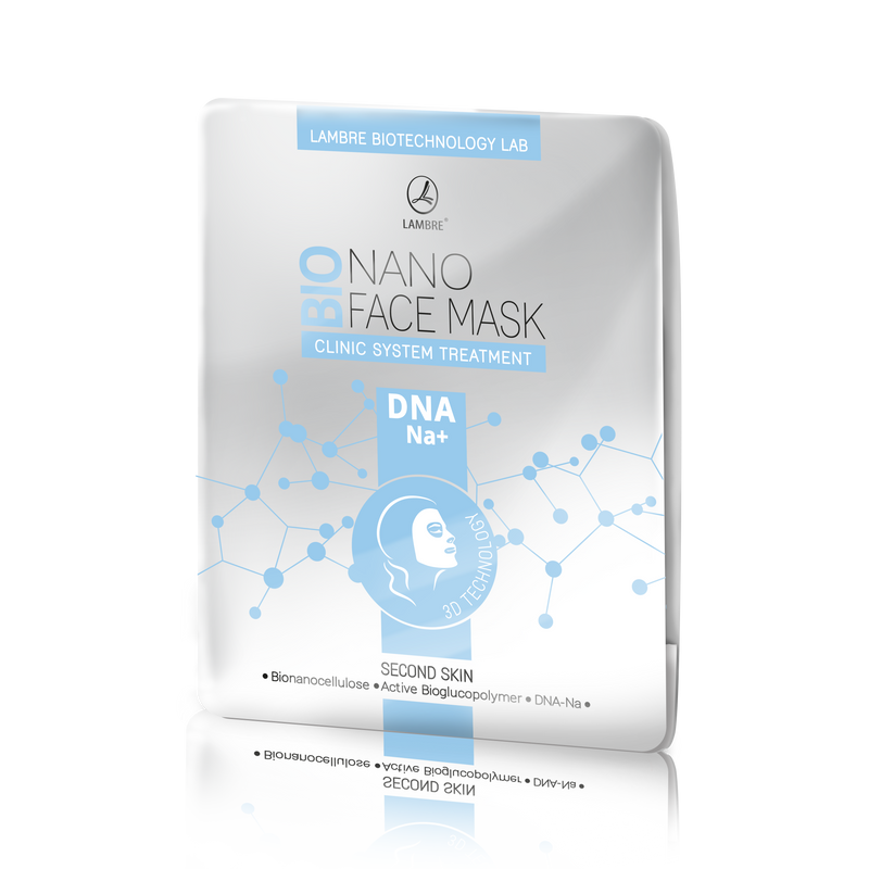 Bionanocellulose face mask DNA-NA+
