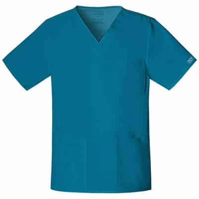Cherokee Core Stretch Unisex Scrub Top 4725