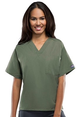 Cherokee Workwear Unisex V Neck Scrub Top