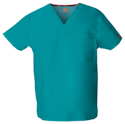 Dickies Unisex V-Neck Scrub Top 83706
