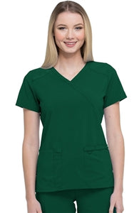 Dickies Essentials Women's Mock Wrap top DK625