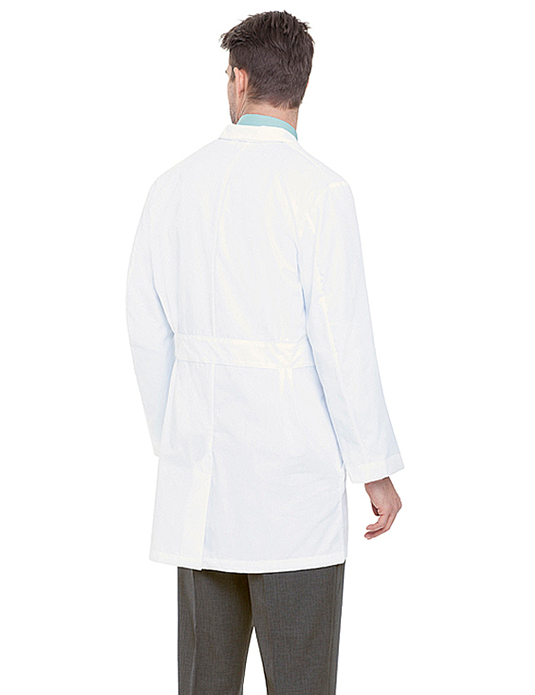 "Landau 37"" Men's All Cotton Lab Coat 3124C"