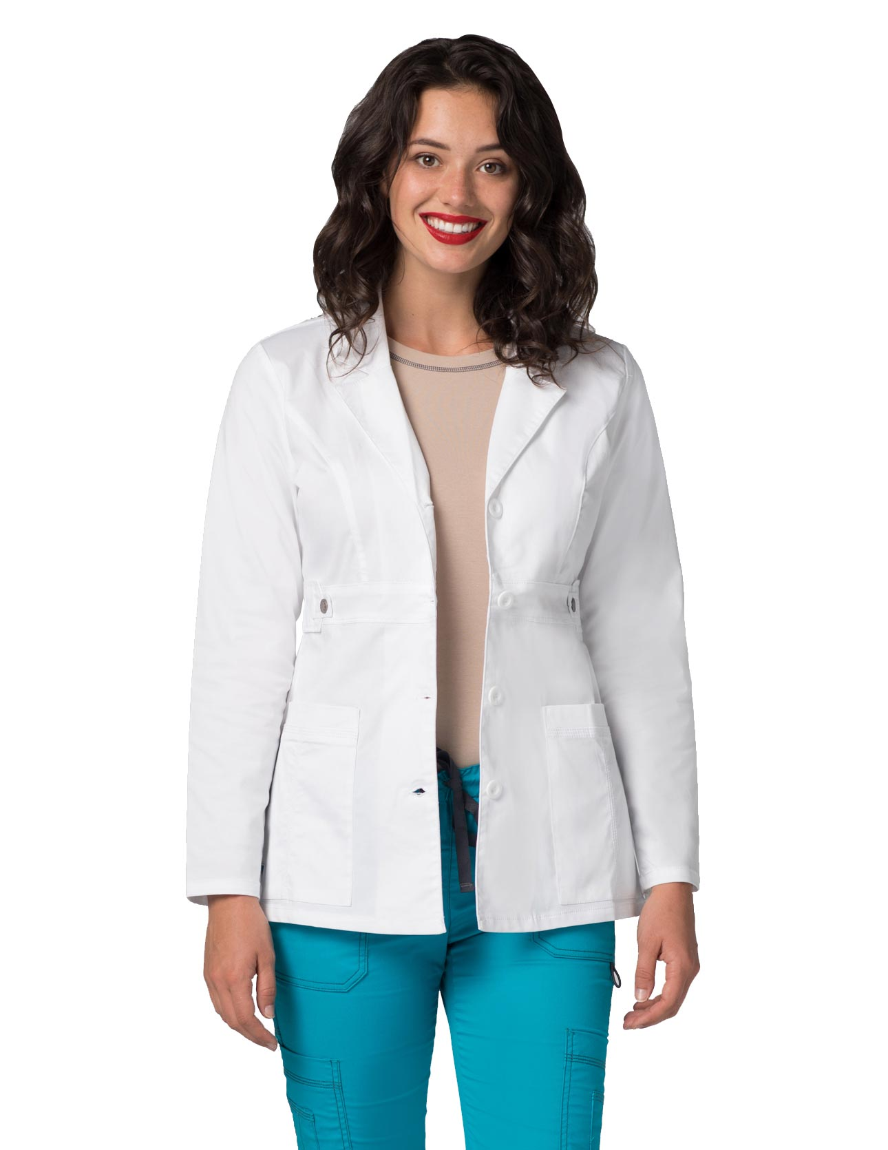 "Women's 28"" Tab-Waist Adar Lab Coat 3300"