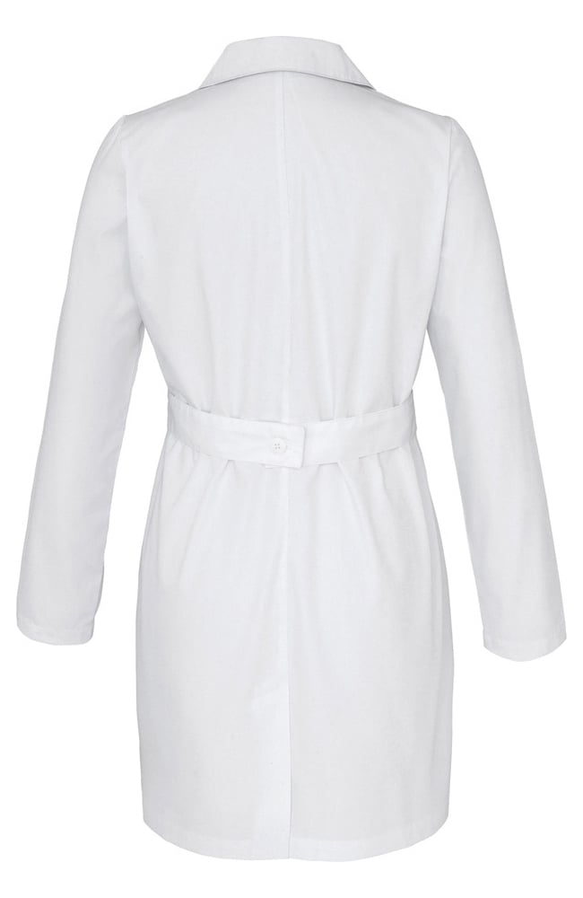 "Adar Ladies 33"" Belted Lab Coat 2817"