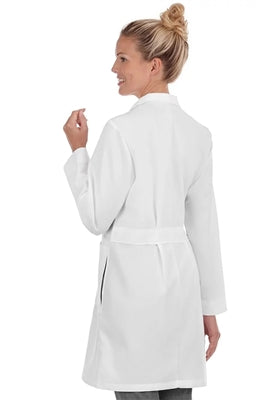 "META Ladies 37"" iPad Pocket Lab Coat 1964"