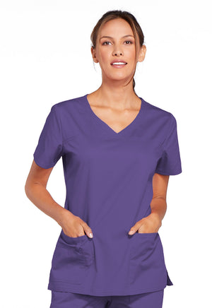 Cherokee Ladies Core Stretch V-Neck Scrub Top