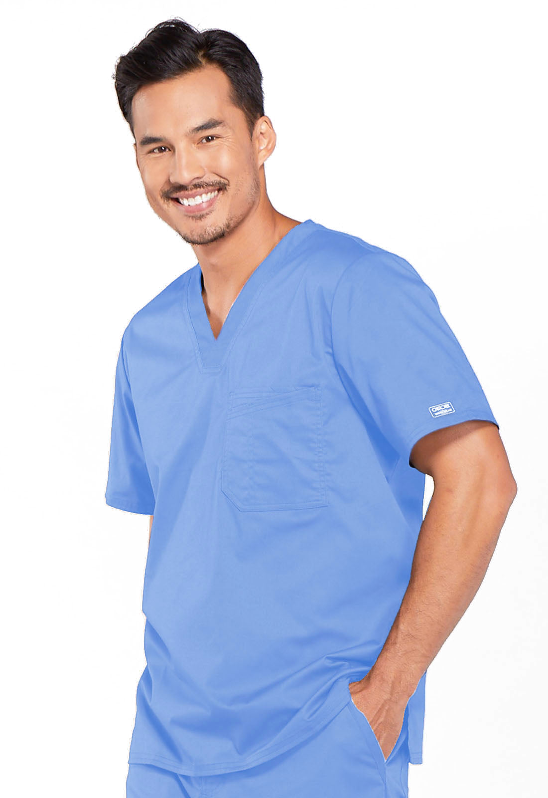Cherokee Men's V-Neck Scrub Top 4743
