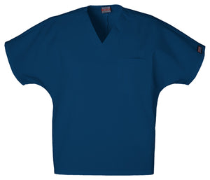 Cherokee Workwear Unisex V Neck Scrub Top 4777