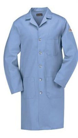 Bulwark 100% Cotton CAT 1 Fired Rated Lab Coat KEL2