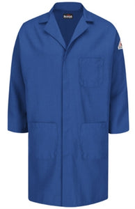 Bulwark Cat 1 Concealed Snap Front Lab Coat KNL6