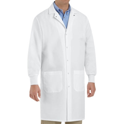 Red Kap Snap Front Cuffed Lab Coat