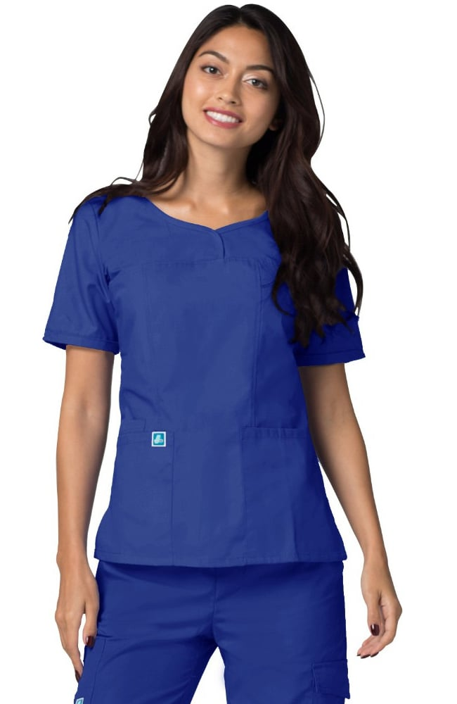 Sweetheart V-Neck Adar Scrub Top 628