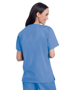 ScrubZone Ladies V-Neck Scrub Top - 70221