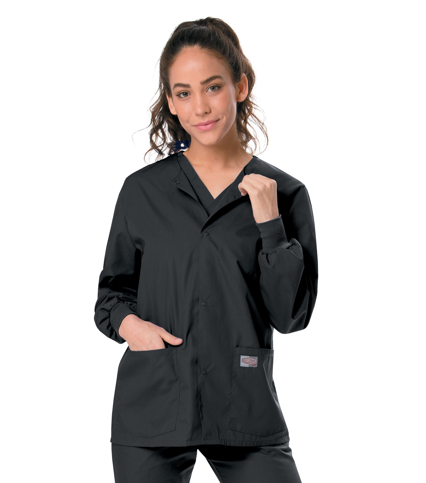 ScrubZone Unisex Warm Up Jacket - 75231