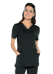 Urbane Impluse V-Neck Top 9105