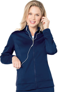 "Urbane Women's ""Empower"" P-Tech Warm-Up Scrub Jacket 9872"