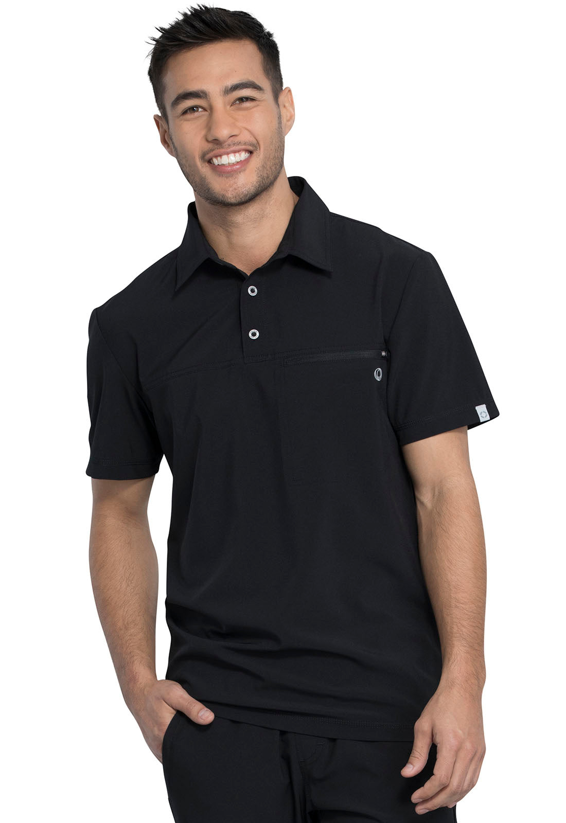 Cherokee Men's Antimicrobial Polo Shirt CK825A