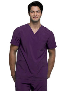 Cherokee Men's Antimicrobial V-Neck Scrub Top ck900A