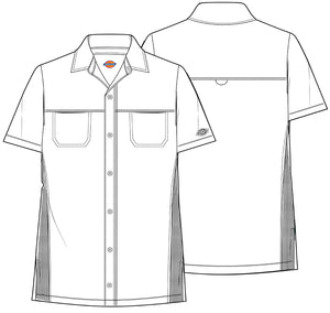 Dickies Men's Dynamix Button Front Collar Shirt DK820