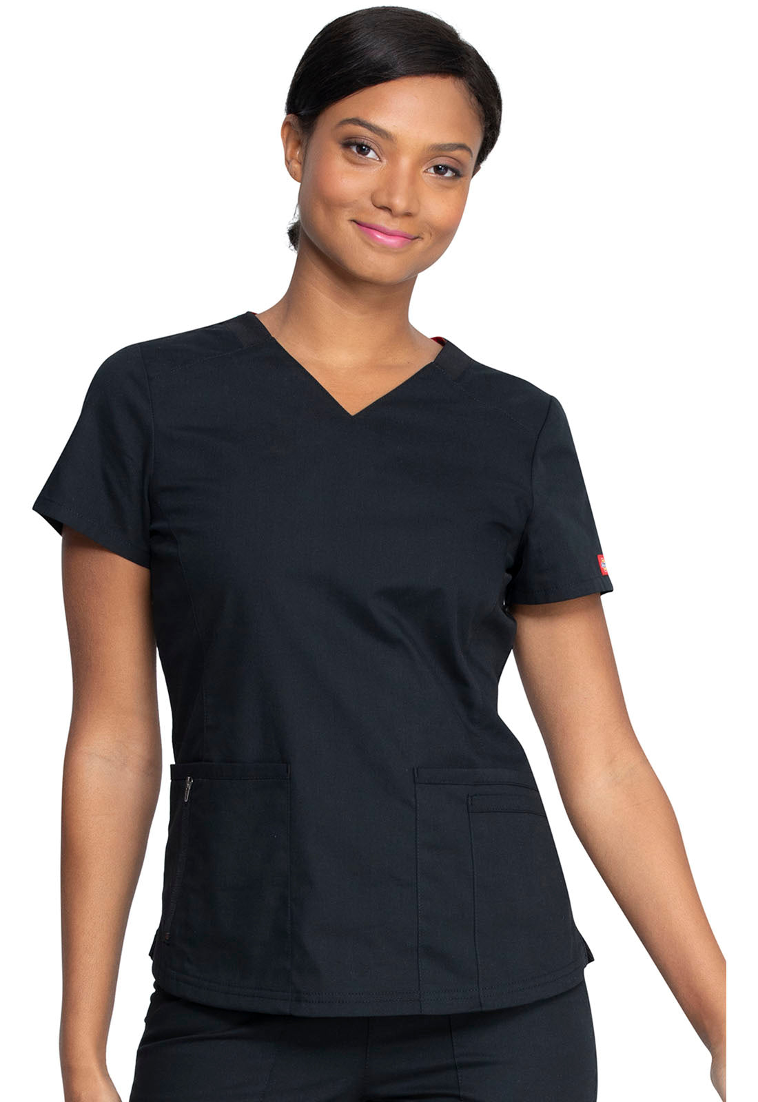 Dickies Women's V-Neck Scrub Top DK880