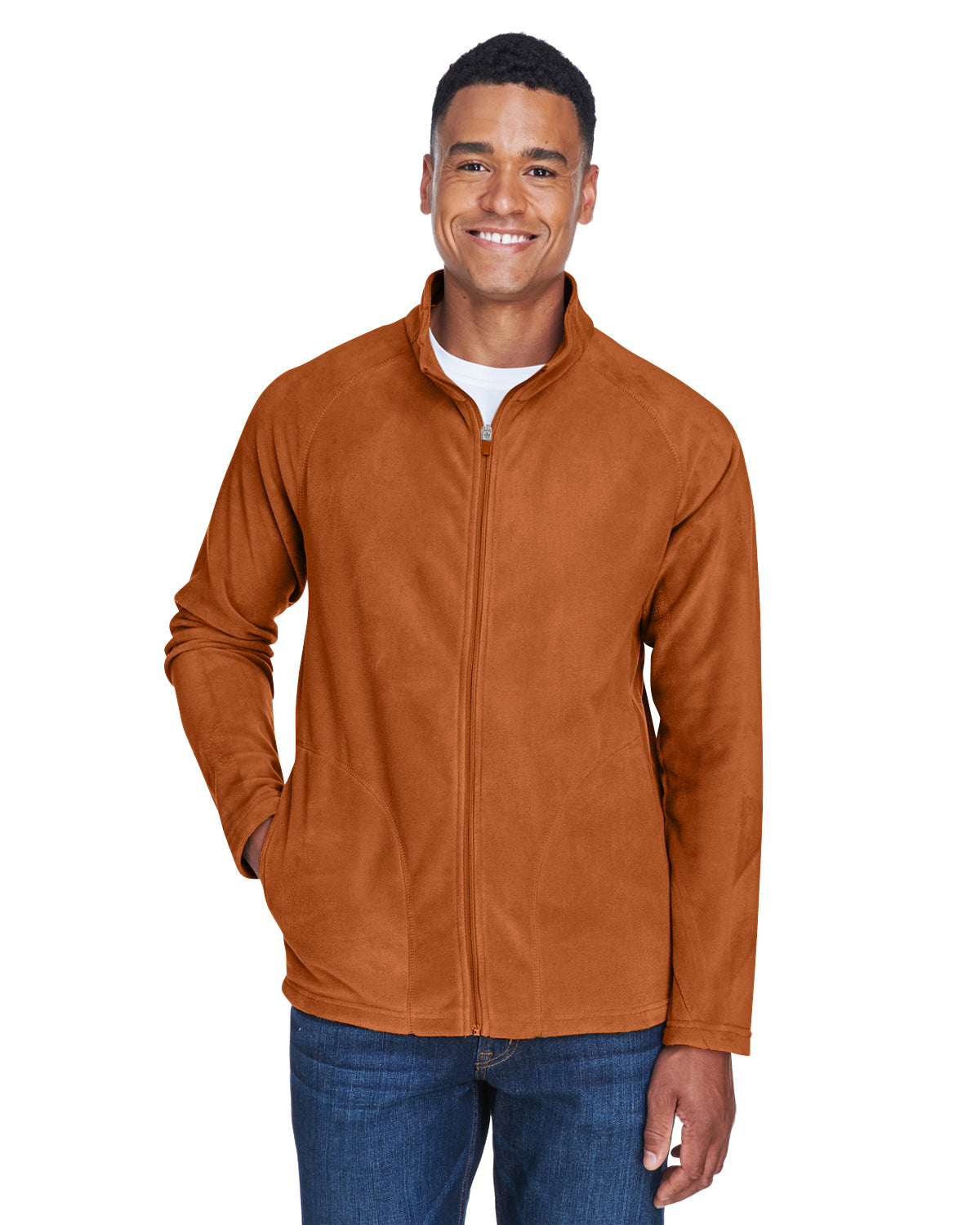Men's 5.9oz Campus Microfleece Jacket TT90