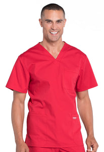 Cherokee Men's V-Neck Scrub Top WW695