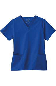 Fundamentals Women's 2 Pocket V-Neck Scrub Top 14700