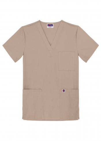 Sivvan by Adar Unisex V Neck Scrub Top S8304