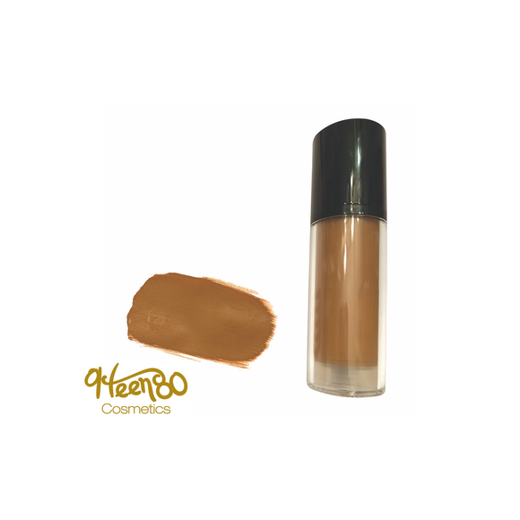 Hazel Nut HD Matte Liquid Foundation - 9Teen80Cosmetics