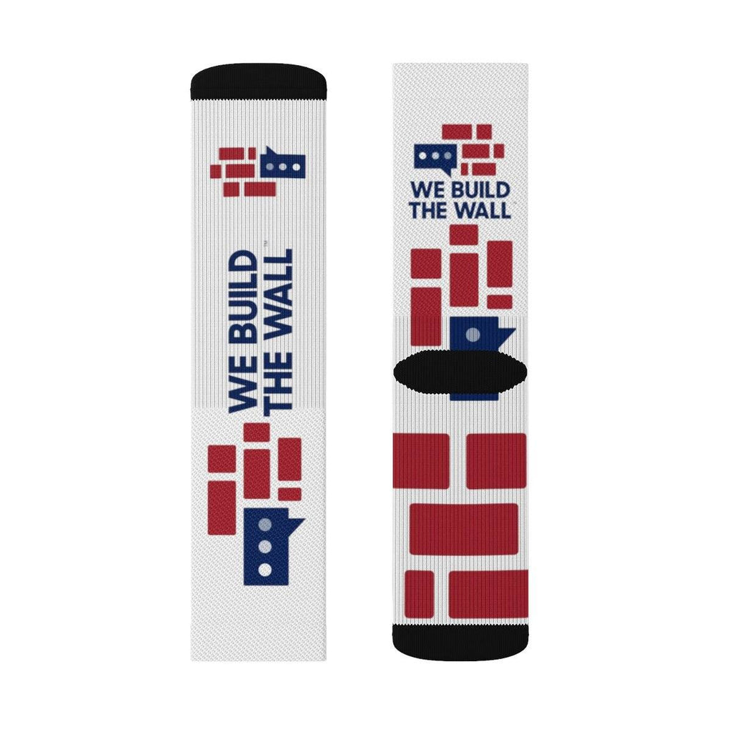 We Build The Wall Socks