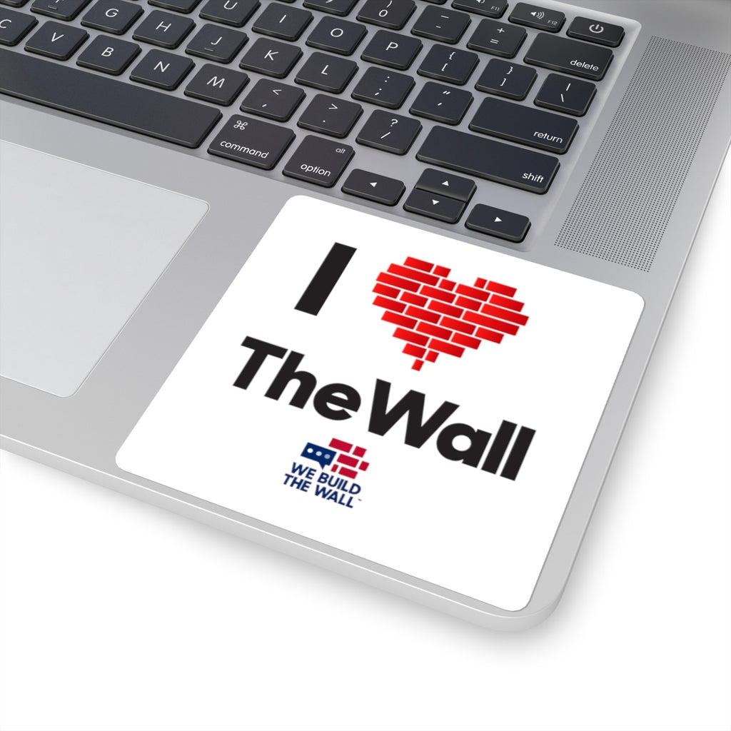 I Love The Wall Sticker