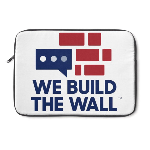 Image of We Build The Wall Laptop Sleeve