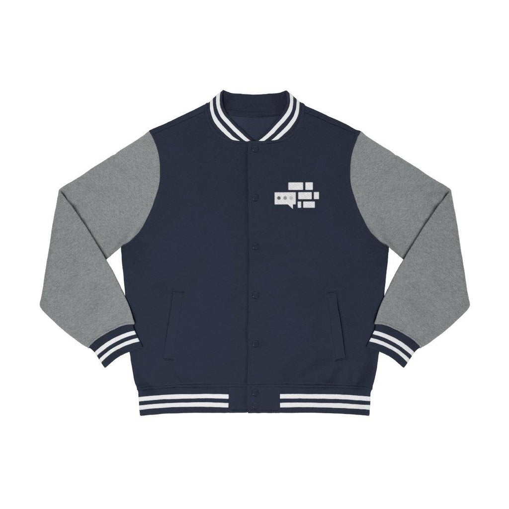 We Build The Wall Varsity Jacket