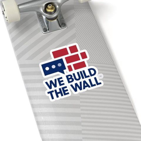 We Build The Wall Sticker