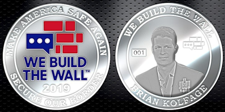 Limited Edition Silver Brian Kolfage Collector's Coin