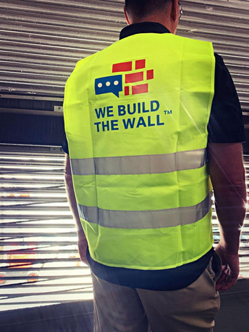 Image of We Build The Wall Safety Vest