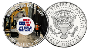 """Keeping America Safe"" Coin"