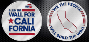 Build The Wall For California Coin - Limited Edition