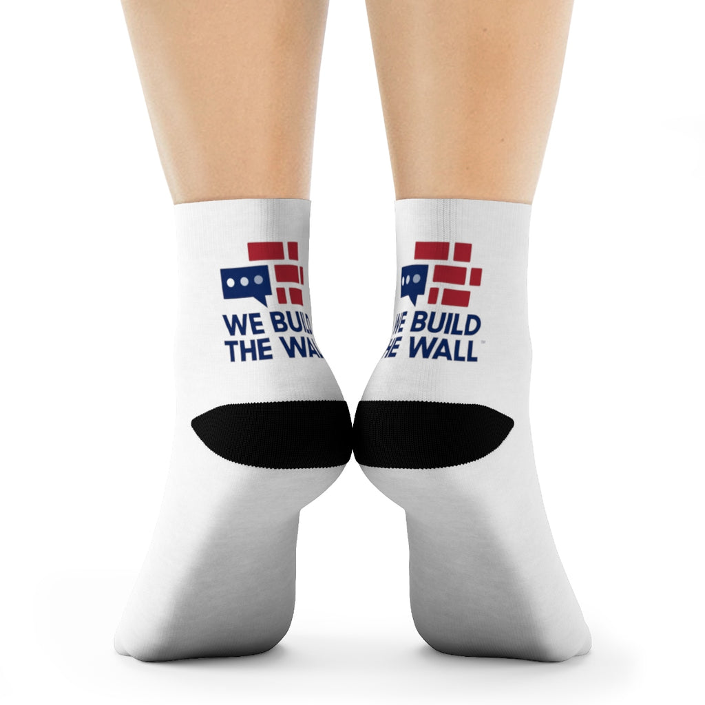 We Build The Wall Crew Socks