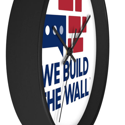 Image of We Build The Wall Clock