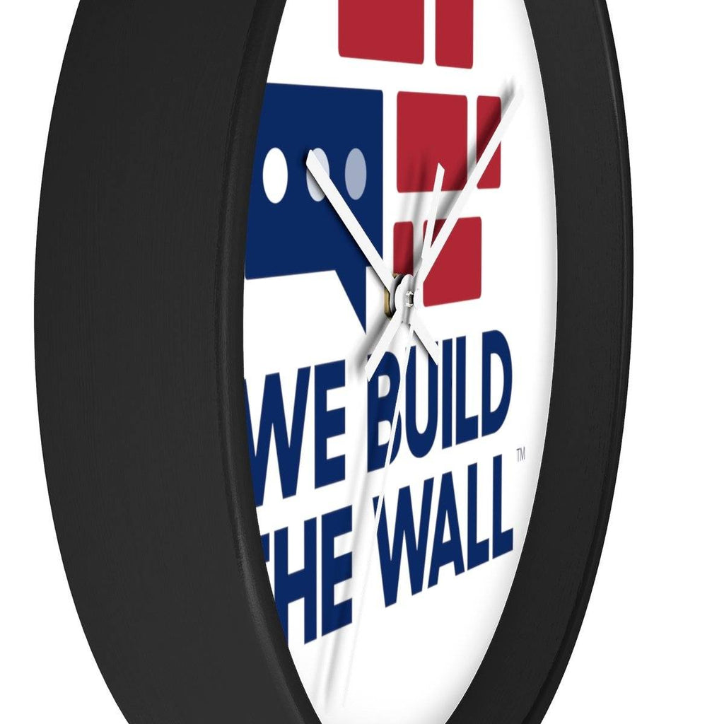 We Build The Wall Clock