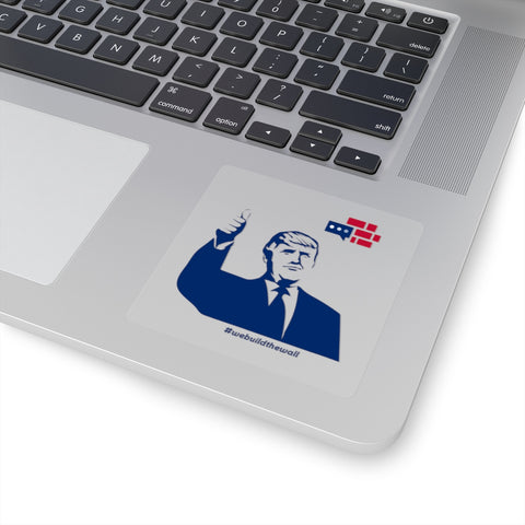 Trump Approved Square Stickers