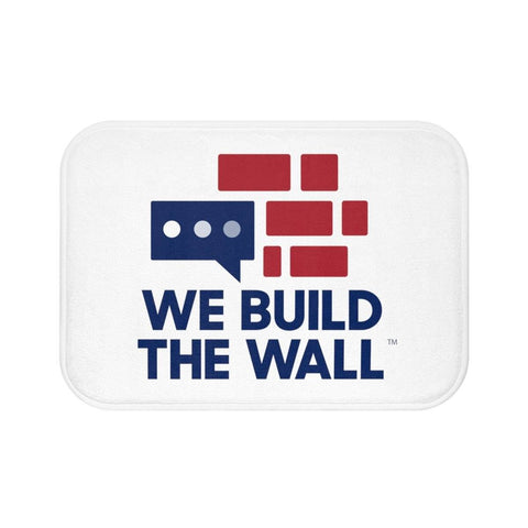 Image of We Build The Wall Bath Mat