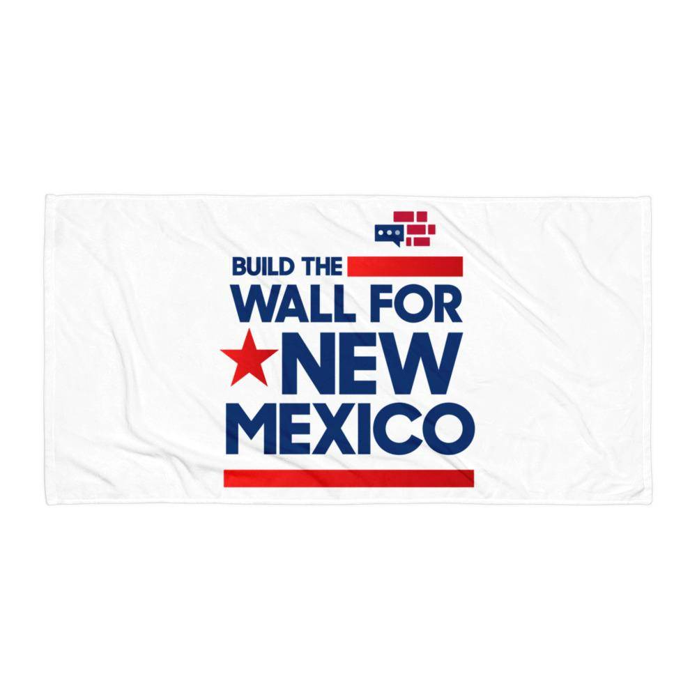 Build The Wall For New Mexico Towel