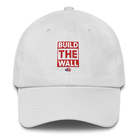 Image of BUILD THE WALL red Hat
