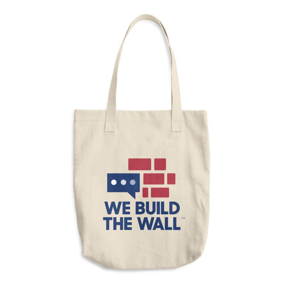 We Build The Wall Cotton Tote Bag
