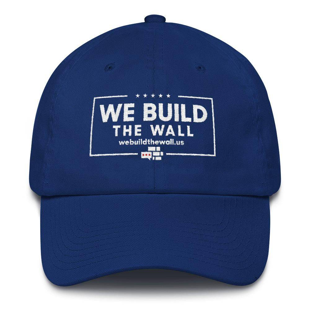 We Build The Wall with border Hat