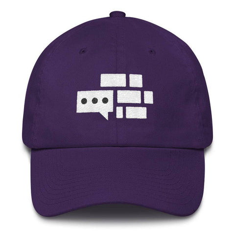 Image of White Emblem Hat