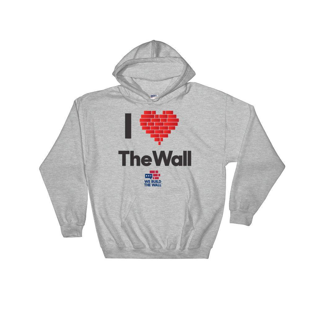 I Love The Wall Hoodie