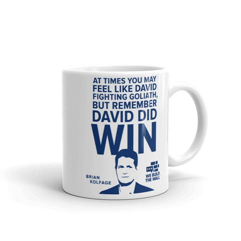 Image of David And Goliath Mug